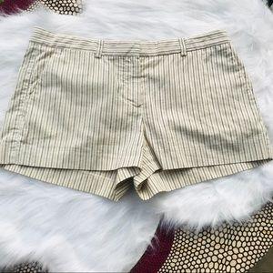 Theory Pinstripes Shorts
